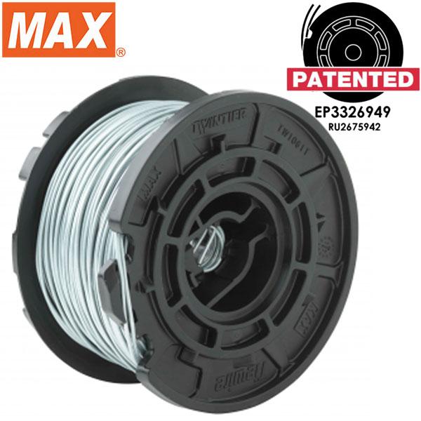 max Arame de amarração eletrogalvanizado para série Twintier TW1061T-EG